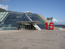 Editorial Grimaldi Forum conference and congress centre located Royalty Free Stock Photos