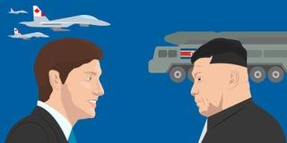 World leaders theme vector illustration