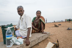 Editorial illustrative image. Family meeting in India Stock Photography