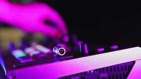editorial illustrator Roland v 8 HD video mixer female hand tunes channels