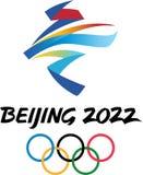 Editorial - ilustração 2022 do Pequim ilustração royalty free