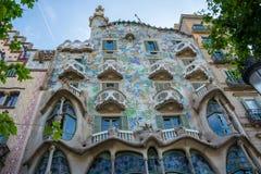 editorial Maj, 2015 Casa Batllà ³ jest budynkiem w centrum o obraz stock