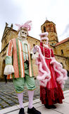 Editorial, 6 March 2016: Rosheim, France: Venetian Carnival Mask Royalty Free Stock Image