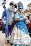 Editorial, 6 March 2016: Rosheim, France: Venetian Carnival Mask Stock Images