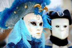 Editorial, 6 March 2016: Rosheim, France: Venetian Carnival Mask Stock Photos