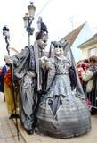 Editorial, 6 March 2016: Rosheim, France: Venetian Carnival Mask Stock Image