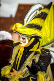Editorial, 4 March 2017: Rosheim, France: Venetian Carnival Mask Royalty Free Stock Photos
