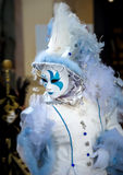 Editorial, 4 March 2017: Rosheim, France: Venetian Carnival Mask Royalty Free Stock Images