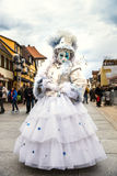 Editorial, 4 March 2017: Rosheim, France: Venetian Carnival Mask Royalty Free Stock Photo