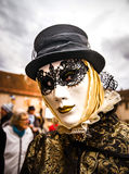 Editorial, 4 March 2017: Rosheim, France: Venetian Carnival Mask Stock Images