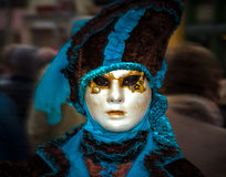 Editorial, 4 March 2017: Rosheim, France: Venetian Carnival Mask Royalty Free Stock Image
