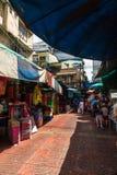 Editorial, mercado callejero en Bangkok Foto de archivo