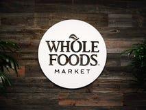 Editorial: Mercado de Whole Foods imagens de stock royalty free