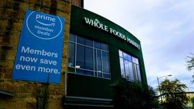 Editorial: Mercado de Whole Foods fotos de stock royalty free
