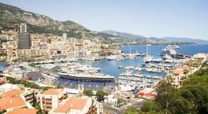 Editorial Monaco Grand Prix Harbor Royalty Free Stock Photos