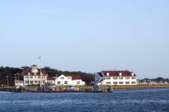 Editorial MONTAUK-JULY 23: The United States Coast Guard Station Stock Photography