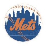 Editorial - New York Mets de MLB ilustração stock