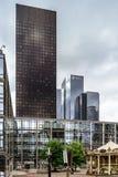 Editorial, o 14 de maio de 2016: Paris, França Skyscrappers da defesa vi Imagem de Stock Royalty Free