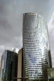 Editorial, o 14 de maio de 2016: Paris, França Skyscrappers da defesa vi Fotografia de Stock Royalty Free