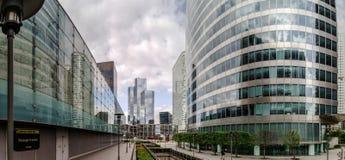 Editorial, o 14 de maio de 2016: Paris, França Skyscrappers da defesa vi Fotos de Stock