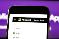 Free Editorial Photo On Microsoft Power Apps  Theme.  Illustrative Photo For News About The Microsoft Power Apps Royalty Free Stock Photos - 217034788