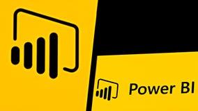Free Editorial Photo On Microsoft Power BI Theme.  Illustrative Photo For News About The Microsoft Power BI Stock Image - 217034791
