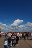 Editorial photo SHOW OPEN AIR. Ivanovo Russia Royalty Free Stock Image