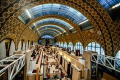 Editorial picture of Orsay Romantic Museum in Paris taken in date 25 december 2018 Stock Images