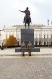 Editorial presidential Koniecpolski Palace with st Stock Photo