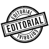 Editorial rubber stamp Royalty Free Stock Photo