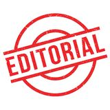 Editorial rubber stamp Royalty Free Stock Image
