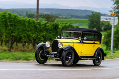 Editorial,12 September 2015: France: XXXIIeme Festival Enthousia. Stes Bugatti in Molsheim. Vintage car Royalty Free Stock Images