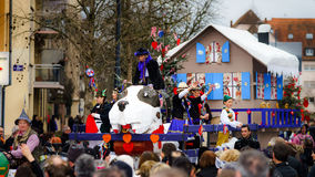 Editorial,14st February 2016: Selestat, France: Carnival and par Royalty Free Stock Image
