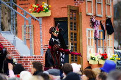Editorial,14st February 2016: Selestat, France: Carnival and par Stock Photography