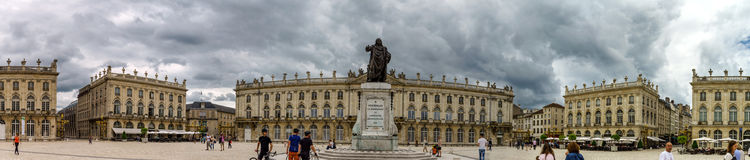 Editorial,31st July 2016: Nancy, France: Touristic center of the Stock Photos