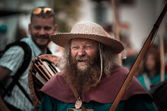 Editorial,14st June 2015: Chatenois, France: Fete des Remparts d Royalty Free Stock Images