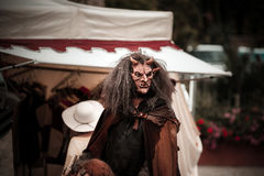 Editorial,14st June 2015: Chatenois, France: Fete des Remparts d. E Chatenois. Fancy-dress medieval holiday and festival in old castle Royalty Free Stock Photo