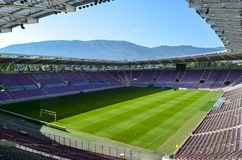 Editorial: Stade de Ganeve, Thailand, 18th July 2012. Stade de G. Aneve also called Stade de Servette, is a football stadium in Geneva Switzerland Stock Photos