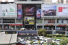 Editorial,06th June 2015:Gurgaon,Delhi,India: MGF Mall on MG Road in Gurgaon, it is one of the first malls in Gurgaon Royalty Free Stock Image