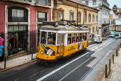 Editorial: 8th June 2017: Lisbon, Portugal:  Classical colorized Royalty Free Stock Images