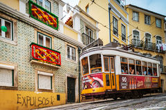 Editorial: 8th June 2017: Lisbon, Portugal:  Classical colorized Stock Photos