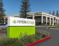 Editorial Use Only - Nimble Storage. Image Stock Photography
