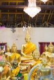 Editorial use only:Samutprakarn, thailand October 19, 2016: Budd. Ha statue at wat bang phli Yai on October 19, 2016 in smutprakarn, Thailand Royalty Free Stock Photography