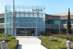 Editorial Use Only - SanDisk. Image Royalty Free Stock Photography