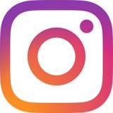 Editorial - vetor do logotipo de Instagram ilustração royalty free
