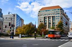 Editorial: Washington DC, USA - 10th November 2017. People in Washington DC city in the morning
