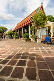 Editorial Wat Pho Buddhist Temple and the Thai Massage School Stock Photo