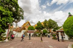 Editorial Wat Pho Buddhist Temple Royalty Free Stock Photo