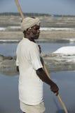 Editoriale documentario di immagine Agricoltore del sale India Immagini Stock Libere da Diritti