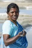 Editoriale documentario di immagine Agricoltore del sale India Fotografia Stock Libera da Diritti
